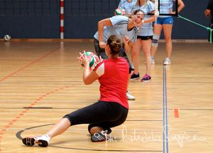 Schnuppertraining Union Grande Volley Frauenkirchen